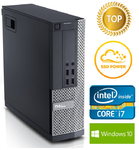 DELL 9010 SFF -  Intel Core i7-3770 4Core/8Threads 3.4-3.9GHz  | DDR3 8GB | 240GB SSD |  Intel® HD Graphics 4000 | no DVD | Windows 10 Pro (RENEW)