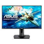 Asus VG278QR 165Hz GAMING LED monitorius su garsiakalbiais ir AMD FreeSync technologija | 27 colių | FULL HD (1920x1080) | Kontrastas: 100 000 000:1 | Reakcijos laikas: 1ms | Peržiūros kampas: 170°/160° | Jungtys: HDMI, DisplayPort, DVI, Earphone out, 3.5mm Mini-Jack | Tilt, Swivel, Pivot, Height Adjustment, VESA, Kensington lock