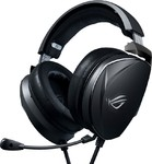 Asus ROG Theta Electret 3.5mm gaming headset with Essence electret and bass drivers that deliver hi-fidelity sound and optimized bass, a certified built-in boom microphone and multiplatform support for PC, game consoles and mobile devices