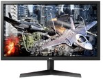 LG 24GL600F 144Hz GAMING LED monitorius su AMD FreeSync technologija | 23.6 colių | FULL HD (1920x1080) | Reakcijos laikas: 1ms | Peržiūros kampas: 170°/160° | Jungtis: HDMI, DisplayPort | VESA, Flicker safe