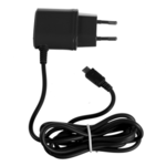 Celly travel charger 1A micro USB (Black) for Samsung Galaxy S4
