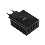 Acme Wall charger CH207 4 x USB Type-A, Black, DC 5 V, 5 A (25 W)