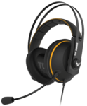 ASUS TUF Gaming H7 - Core Yellow - PC and PS4 gaming headset with onboard 7.1 virtual surround and upgraded ear cushions for eyewear comfort