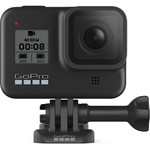 GoPro HERO8 Black veiksmo kamera | HyperSmooth 2.0 + Boost | TimeWarp 2.0 | 12 MP | 4K 60/1080p 240 | Slo-Mo | 1080p Live Streaming | Touch Screen | SuperPhoto + HDR | Built-In Mounting