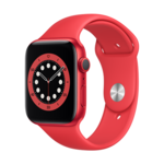 Apple Watch Series 6 GPS, 44mm PRODUCT(RED) Aluminium Case with PRODUCT(RED) Sport Band - Regular LT