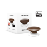 Fibaro The Button Z-Wave, Brown
