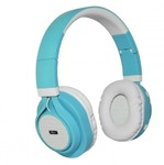 ART BT ear headphones with microphone turquoise