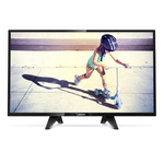 "Philips Ultra Slim LED TV 32"" 32PFS4132/12 FHD 1920x1080p 280cd PPI-200Hz 2xHDMI USB(AVI/MKV) DVB-T/T2/T2-HD/C/S/S2, 16W, C:Black"