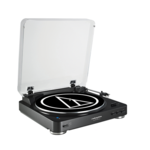 Audio Technica AT-LP60BKBT Fully Automatic Wireless Belt-Drive Stereo Turntable, Black Audio Technica AT-LP60BKBT