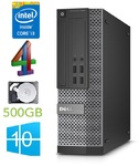 DELL 7020 SFF - Intel Core i3-4150 2Core/4Threads 3.50 GHz | DDR3 4GB | HDD 500GB |  Intel® HD Graphics 4400 | DVDrw |  Windows 10 Pro (RENEW)