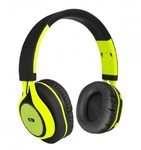 ART BT-ear headphones with microphone lime