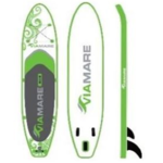 Viamare Inflatable SUP Board, 330 cm, 160 kg, Green, SUP Paddle