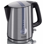 PHILIPS HD4670Kettle, 2400W, 1.7 l capacity, One Cup Indicator, Double boil-dry protection, 0.75 m cord