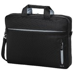 HAMA Marseille Style Notebook Bag up to 40 cm 15.6in black/grey