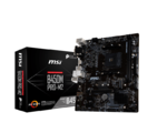 MSI B450M PRO-M2 AM4, mATX, Supports DDR4-3466(OC), M.2 socket for SSD, EZ Debug LED
