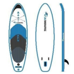 Viamare Inflatable SUP Board, 330 cm, 160 kg, Blue, SUP Paddle