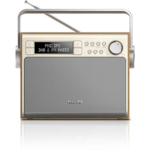 Philips Gold/Silver, 3 W, Radio