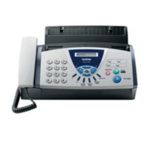Brother FAX-T104, A4 plain paper, fax/phone/copy, thermal transfer, 25 pages memory