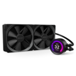 "NZXT Kraken Z63 - 280mm AIO Liquid Cooler with RGB LED + 2.36"" LCD screen"