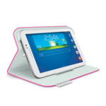 Logitech Folio Protective Case S37 for Samsung Galaxy Tab 3 7.0 Pink/ Made from durable, water-repellant materials