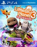 Little Big Planet 3 žaidimas, skirtas Playstation 4 konsolei