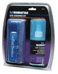 MANHATTAN LCD Cleaning Kit Alcohol-free Includes Cleaning Solution Brush and Microfiber Cloth