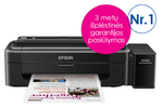 EPSON Inkjet Printers L310 USB 33 Pages/min Monochrome (plain paper) 15 Pages/min Color (plain paper)