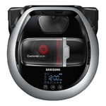 Samsung VR20R7250WC/SB, POWER Bot! 60W variklis, įkrovimas/valymas (min): ~240/~90, WiFi, Visionnary mapping plus™, Li-ion, Cylcone Force™ brush, Soft