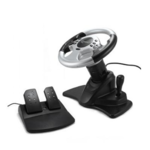 Gembird Multi-interface 4-in-1 racing wheel and pedals with two vibration motors
