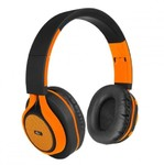 ART BT- ear headphones with microphone orange