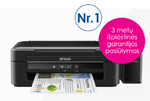 Epson L382 Colour, Inkjet, Multifunction Printer, A4, Black