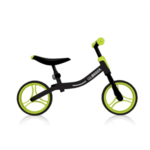 GLOBBER Go Bike Balance Bike, Black/Green