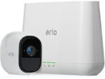 Netgear Arlo Pro - The world's first and only 100% wire-free, weatherproof, rechargeable HD smart security camera with audio and 130° viewing angle