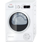 Bosch WTW 87568SN Tumble Dryer/8KG/A++/SelfCleaningCondenser/ ECARF quality/AutoDry/SensitiveDryingSystem/ ActiveAir/LED Display/ TouchControl/White