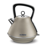 Morphy richards Kettle  100102 Standard, Stainless steel, Platinum, 3000 W, 360° rotational base, 1.5 L
