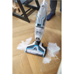 Bissell MultiFunctional Cleaner CrossWave Cordless operating, Handstick, Washing function, 36 V, Operating time (max) 25 min, Blue/Silver, Warranty 24 month(s), Battery warranty 24 month(s)