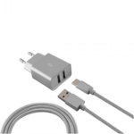 KSIX BXCD2U2MP Wall Charger with 2 USB Ports