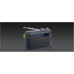 Muse DAB/DAB+ PORTABLE RADIO M-108DB Grey, AUX in