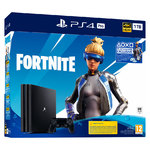 Sony PlayStation 4 Pro 1TB Fortnite Neo Versa komplektas