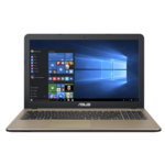 Asus VivoBook X540UA Chocolate Black, FHD, 1920 x 1080 pixels, Matt, Intel Core i3, i3-6006U, 4 GB, DDR4, SSD 128 GB, Intel HD, Without ODD, Endless OS, 802.11 ac, Bluetooth version 4.0, Keyboard language English, Battery warranty 12 month(s)