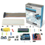 Ebotics Build&Code Plus Electronic And Programming Extended Kit By KSIX Grey