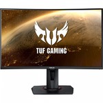 "Asus TUF Gaming VG27WQ (iš ekspozicijos) Curved Gaming Monitor 27"" WQHD (2560x1440), 165Hz (above 144Hz), Extreme Low Motion Blur, Adaptive-sync, Freesync Premium,1ms (MPRT), DisplayHDR 400"