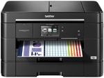 Brother MFC-J5720DW / Print, Copy, Scan, Fax / A3 / Print: up to 35 ppm (mono), 27 ppm (color) / Copy: 1200x1200dpi / Scan: 2400x2400dpi/  Fax 33.6K bps / Flatbet / 50-Sheet DADF / 2*250 Sheet Tary USB2.0 / LAN / WiFi