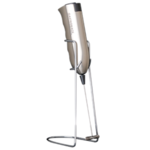 Gastroback Latte Max Beige, Milk Frother With Stand