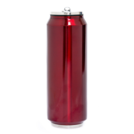 Yoko Design Isothermal tin can, Shiny red, Capacity 0.7 L, Dishwasher proof