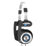Koss Porta Pro Classic Headband/On-Ear Headphones - Black/Silver | 101 dB | 60 Ω | 15-25.000 Hz