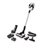 Bosch Vacuum cleaner Serie 8 Unlimited BBS812PCK Cordless operating, Handstick and Handheld, 18 V, Operating time (max) 35 min, White, Warranty 24 month(s), Battery warranty 24 month(s)