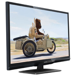 "Philips LED TV 22"" 22PFH4109 FULLHD 1920x1080p 250cd 100.000:1 100Hz HDMI/VGA USB(AVI/MKV) DVB-T/C (MPEG-4) 5W, C:Black"