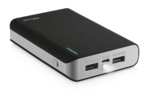 Trust Primo Portable charger with 2 USB ports and built-in 8800 mAh battery to charge your phone and tablet anywhere