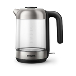 Philips Kettle HD9339/80 2200W 1.7l, Crystal glass, light status indicator